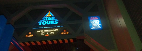 Star Tours - Dernier vol - 16 Mars 2016 - Disneyland Paris