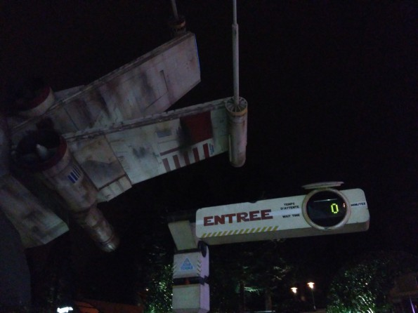 Star Tours 16 Mars 2016 Disneyland Paris
