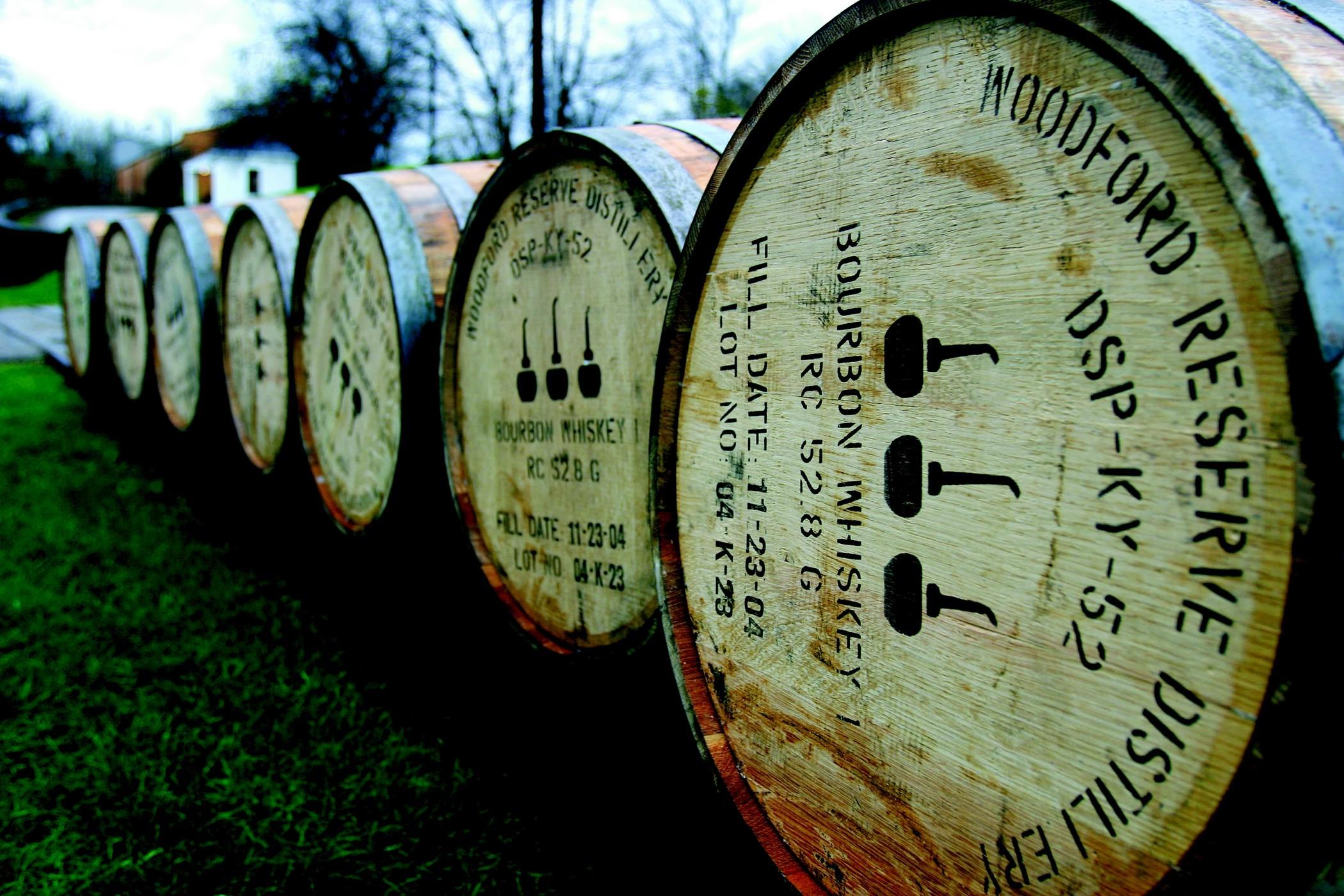 Woodford Reserve : fûts de whisky