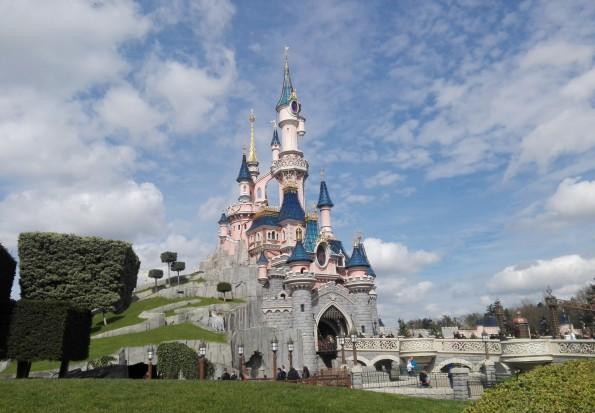 Le château de Disneyland Paris, à Marne-la-Vallée