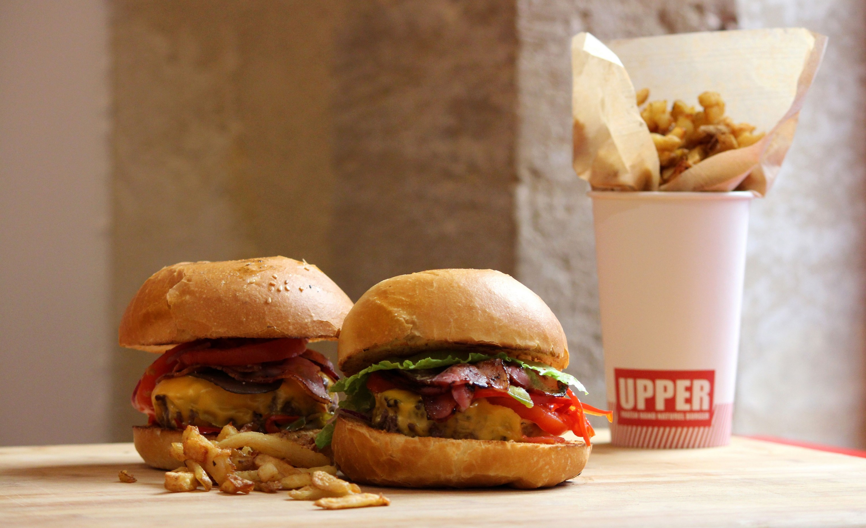 UpperBurger - Burger gourmet à Bordeaux