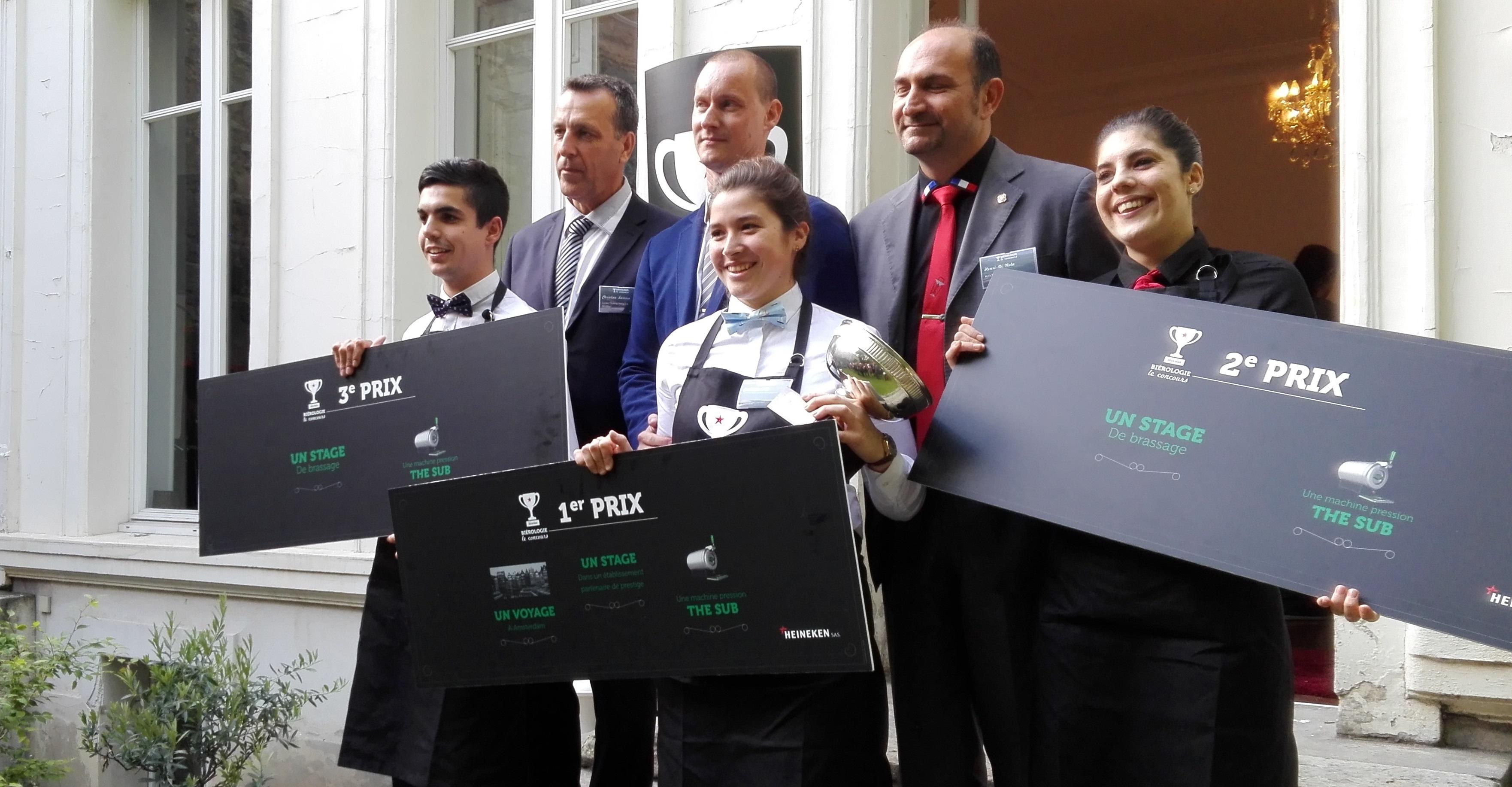 Finale du concours de biérologie 2016 Heineken