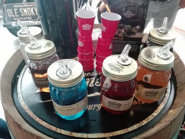 Ole Smoky Moonshine - Whisky Live Paris 2016