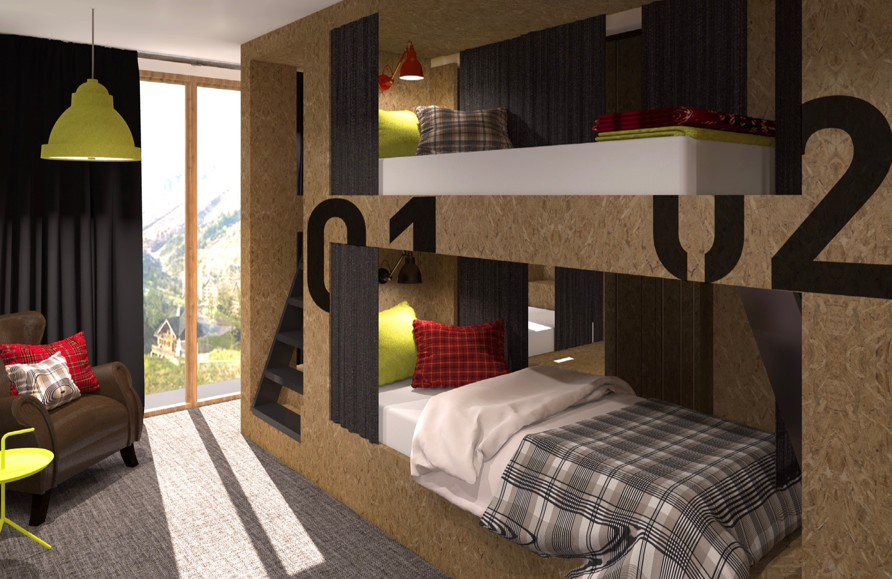 Moontain Hostel Oz en Oisans