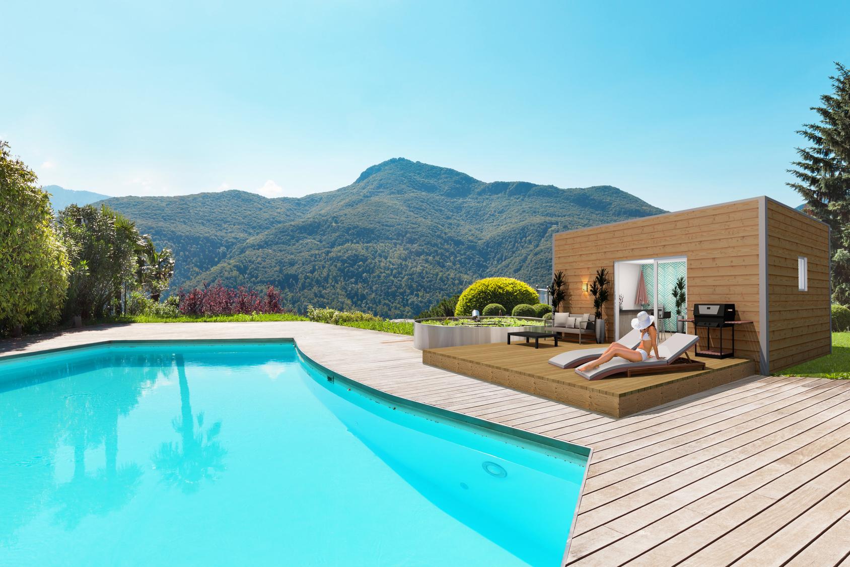 Maison avec piscine - Shelty