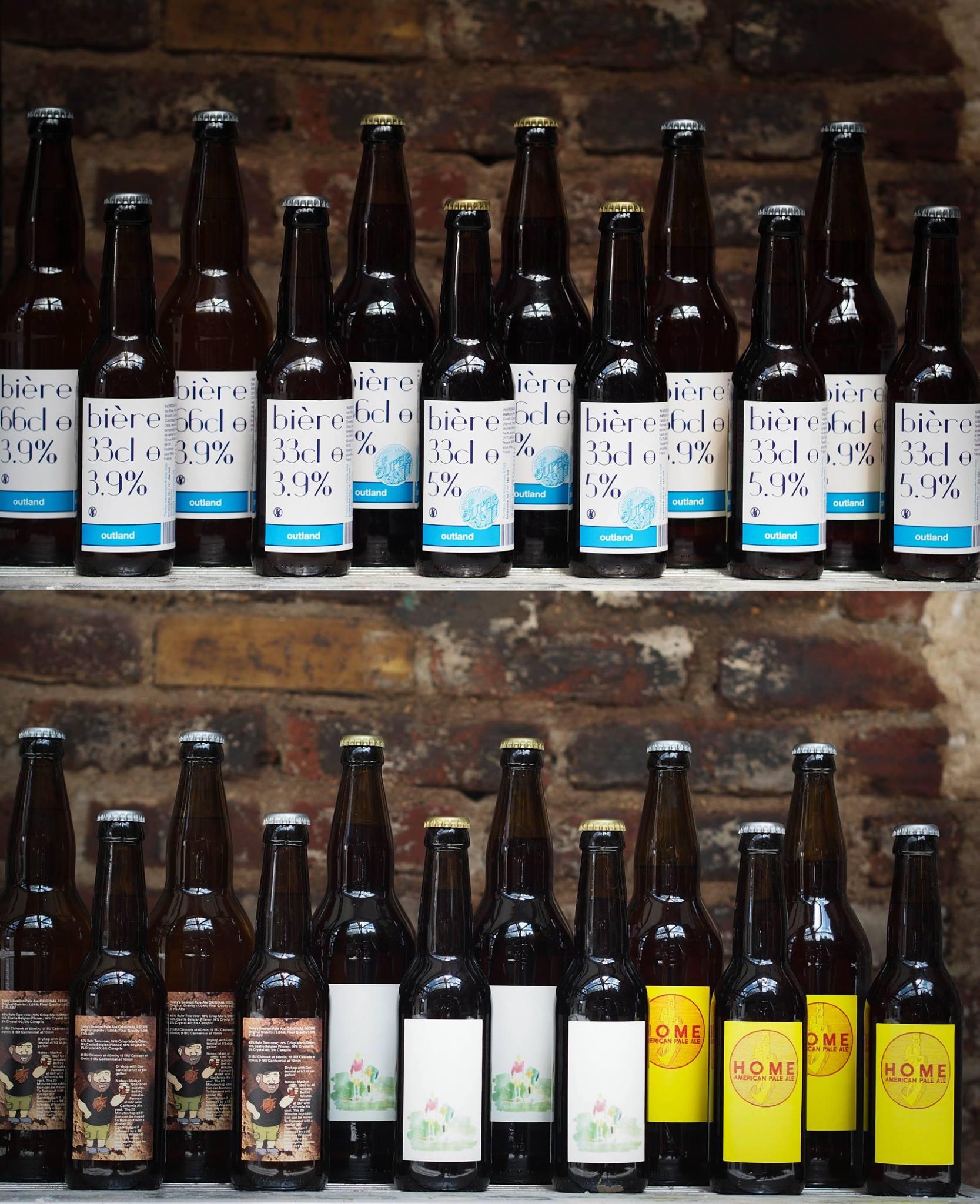 Bières artisanales Outland