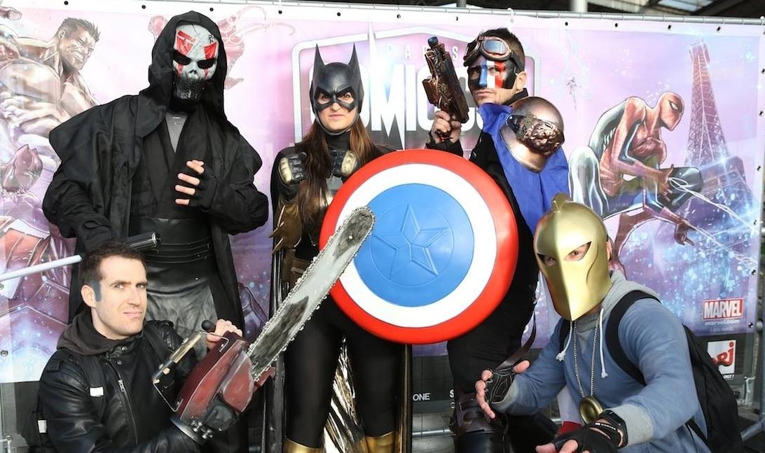 Cosplayeurs - Comic Con Paris 2016
