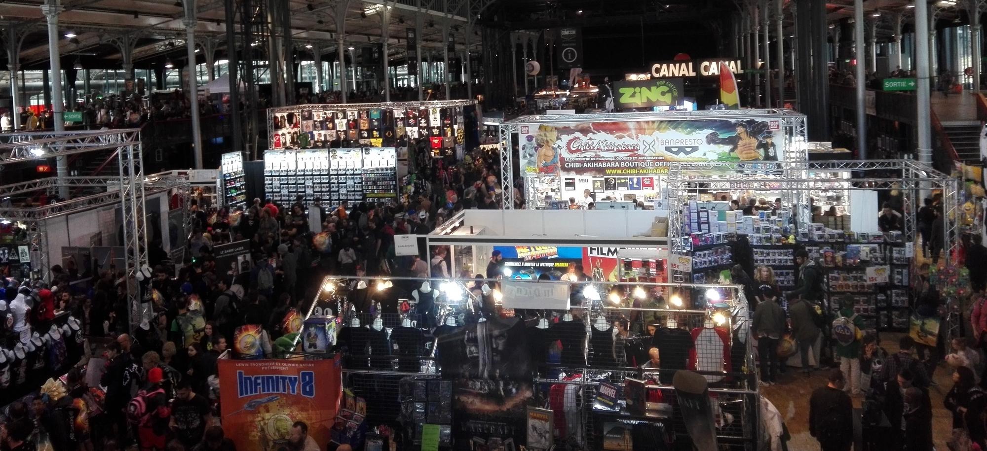 Comic Con Paris 2016 : vue du festival