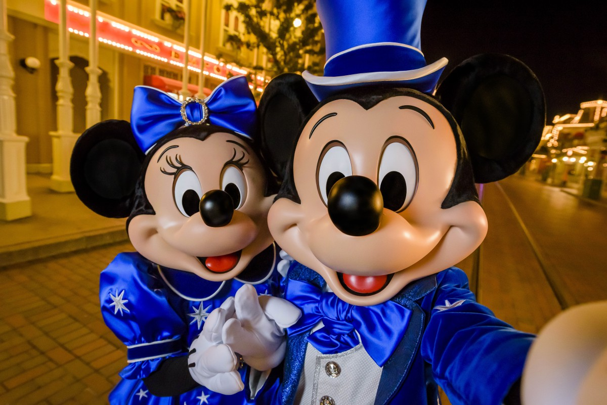 Mickey et Minnie - 25 ans Disneyland Paris