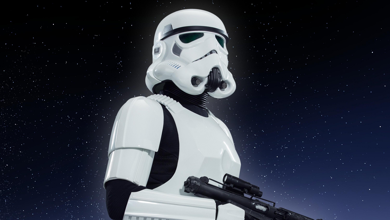 Stormtrooper Saison de la force Star Wars Disneyland Paris