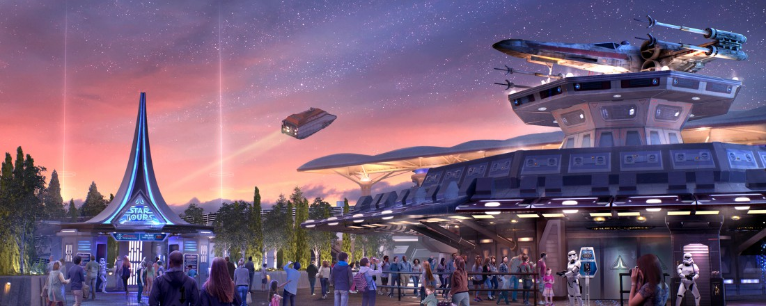 Star Tours ; l'aventure continue - Disneyland Paris