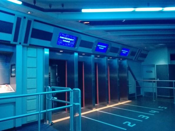 Les files d'embarquement ont aussi été transformées.