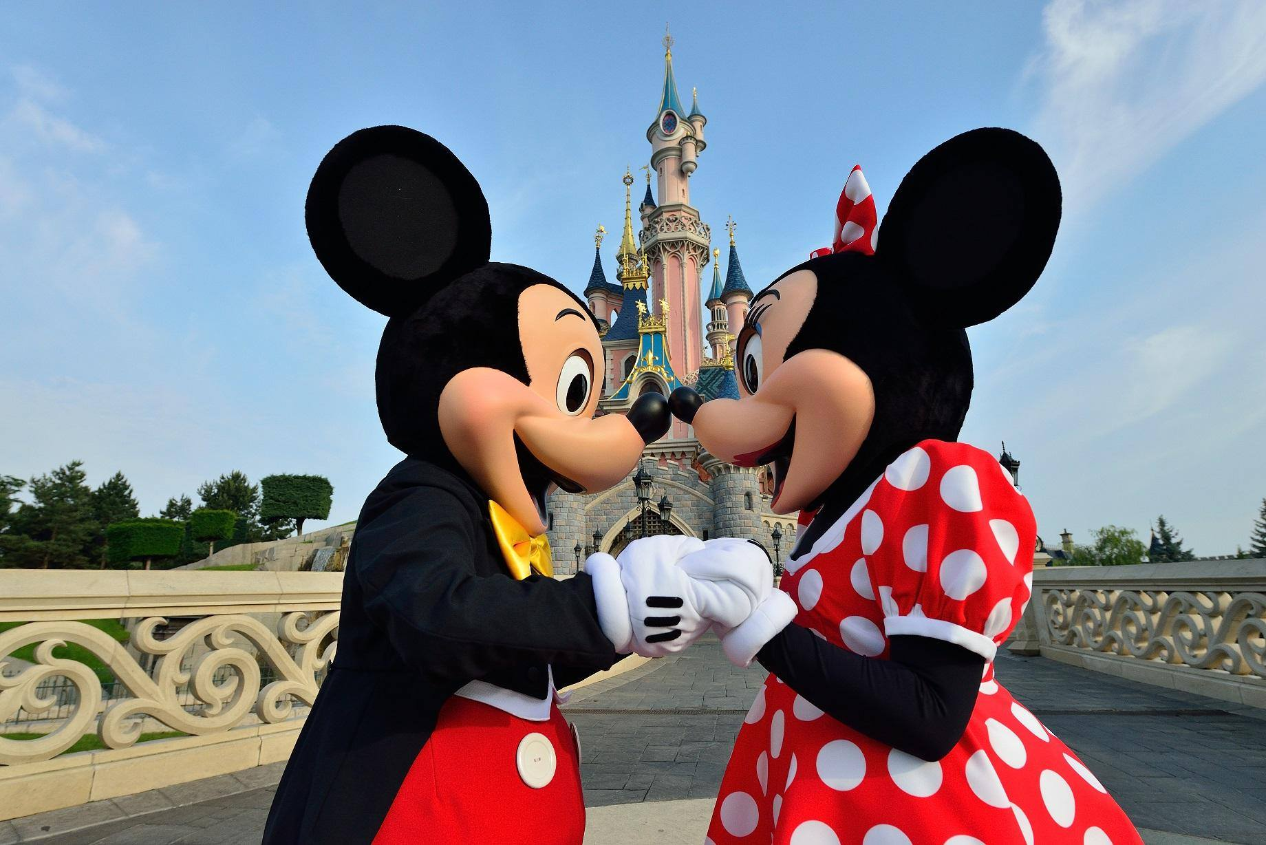 Disneyland Paris - Mickey et Minnie