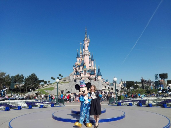 Mickey et Catherine Powell - 25 ans de Disneyland Paris - 12 avril 2017