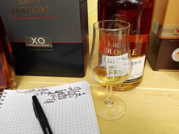 Le rhum Grande réserve de la distillerie Bologne
