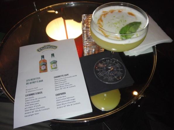 Cocktails au rhum Charrette - Jefrey's/Benjamin Nolf