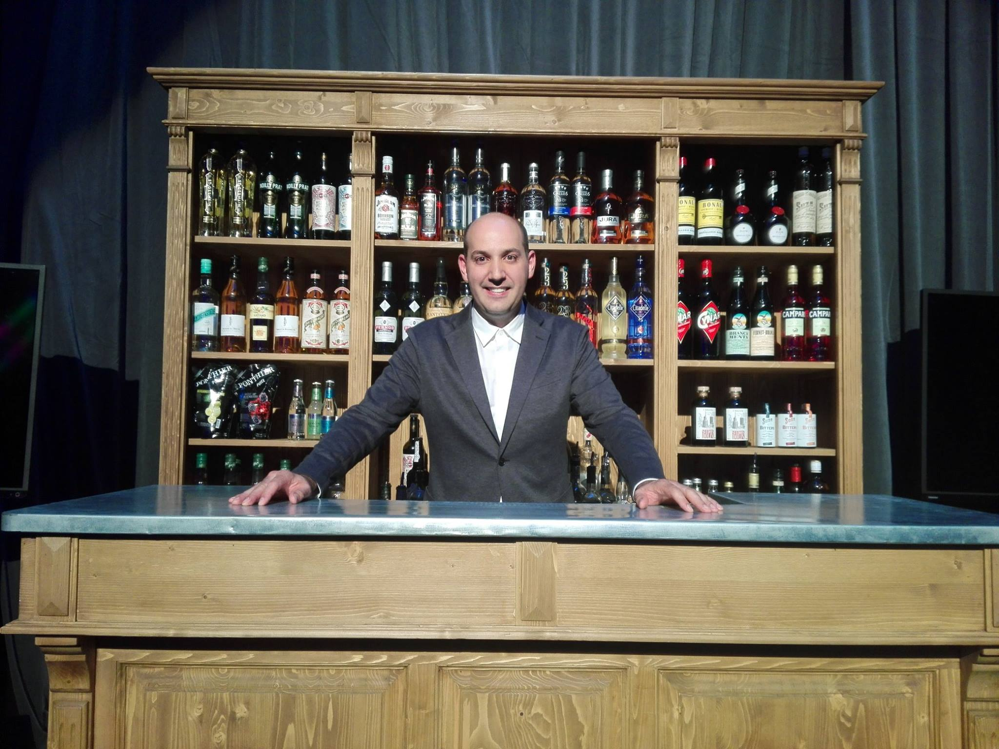 Fernando Castellon, organisateur des Trophées du Bar