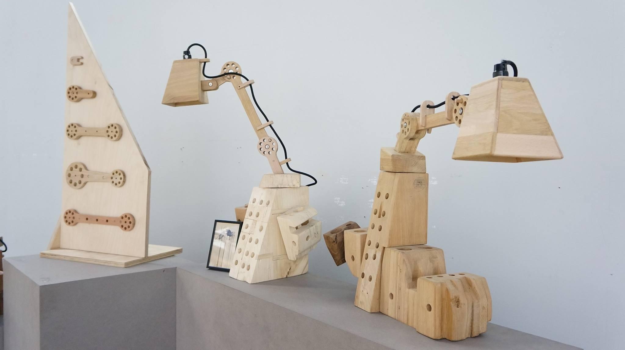Mobilier design en bois - ICI Montreuil