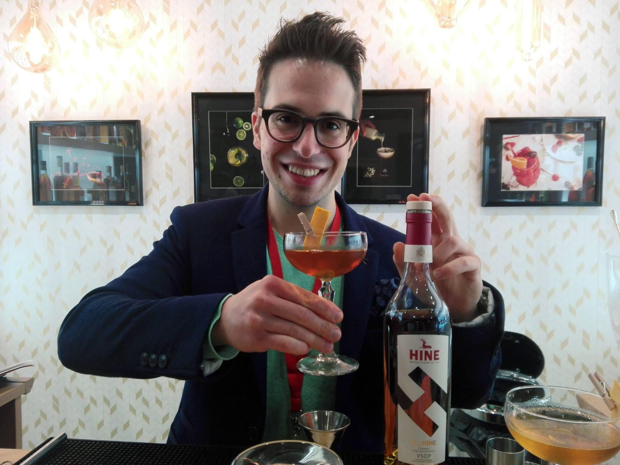 Reinhard Pohorec - Cognac educator - Cocktails Spirits 2017