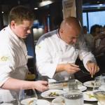 Olivier Nasti et le champagne Collet célèbrent les livres de chefs