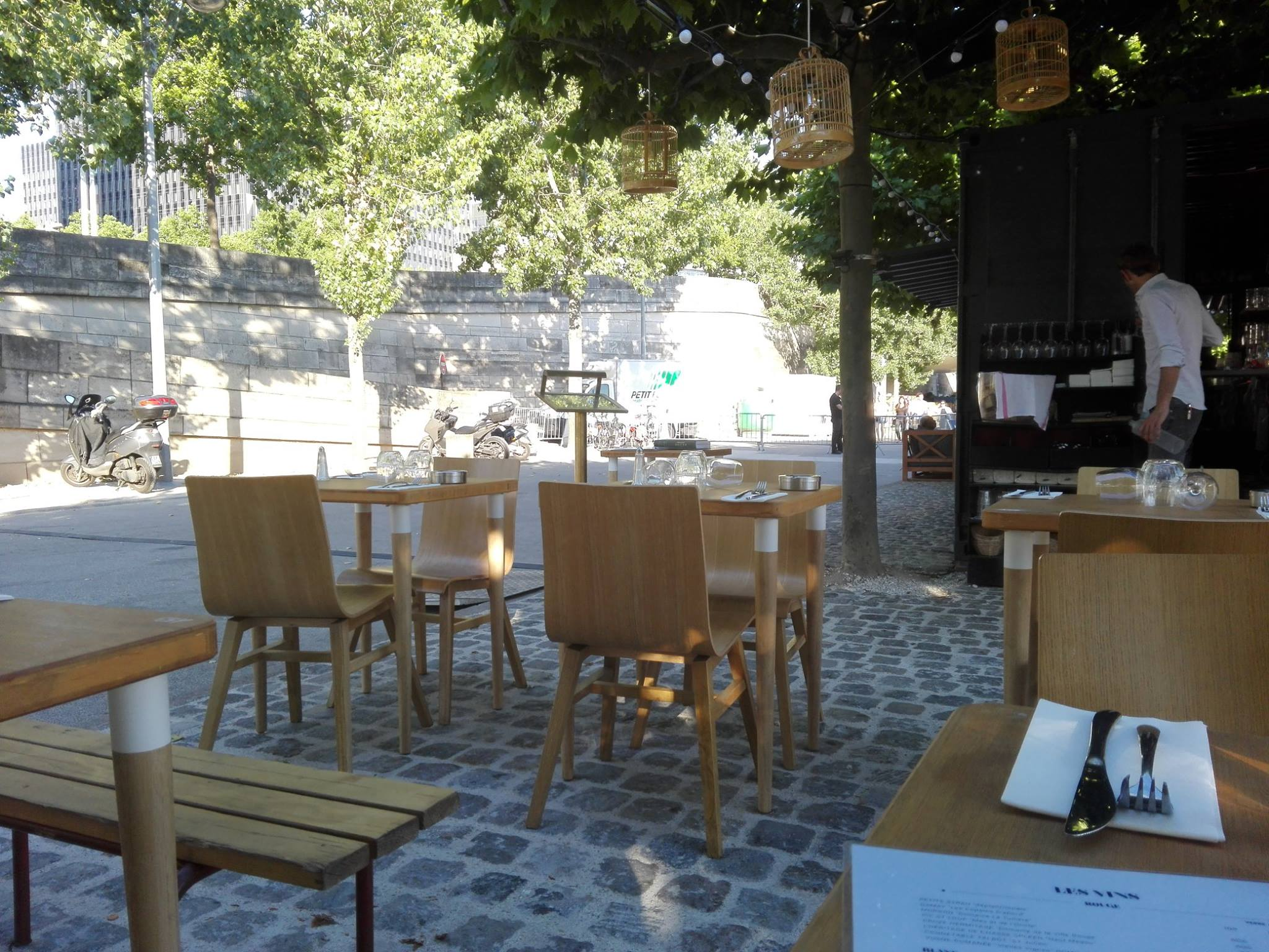 La Démesure sur Seine - Restaurant et terrasse barbecue - Paris 12