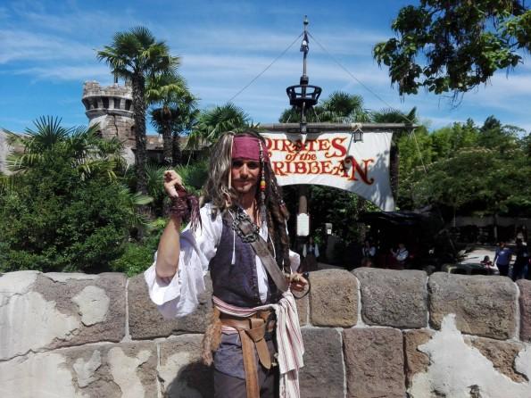 Jack Sparrow - Avant-première Pass annuel Infinity - Pirates des Caraïbes - Disneyland Paris