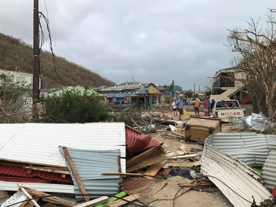 Saint-Martin - Ouragan Irma