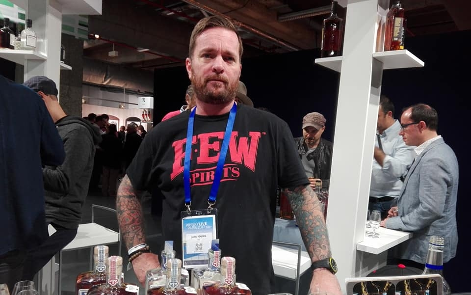 John Young, brand ambassador UK de Few Spirits