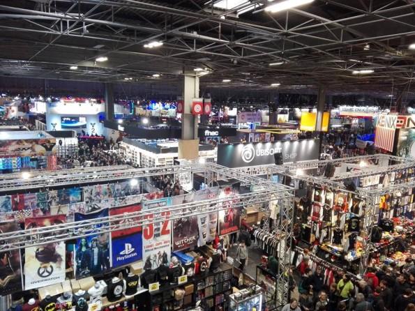 Paris Games Week - Hall 1 - Edition 2017