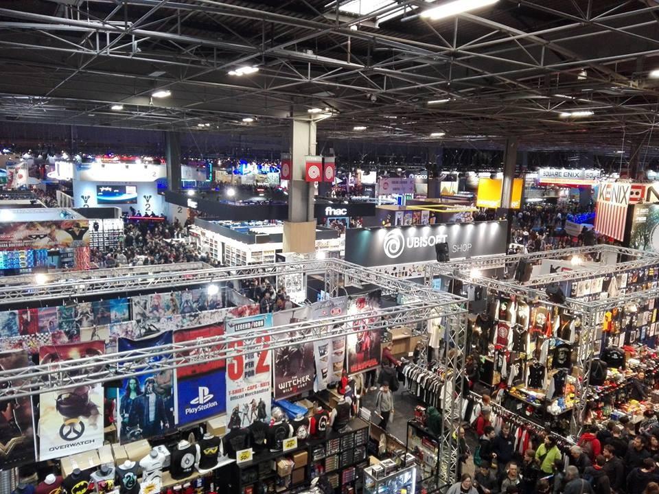 Vid os 8 exp riences v cues la paris games week 2017 for Salon industrie paris 2017
