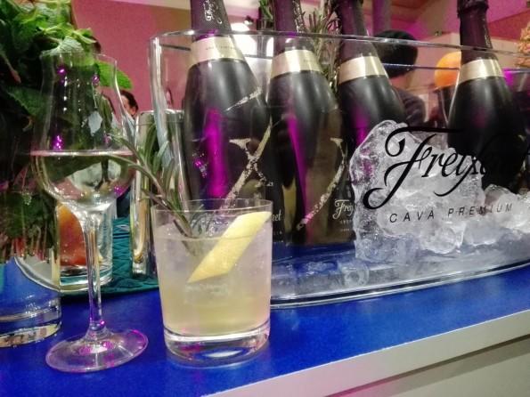 Barcelona Mule, un des cocktails proposés par Freixenet.