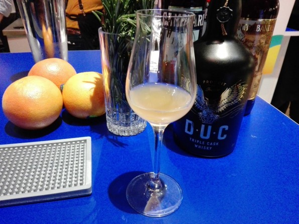 Milky Way, le cocktail qui accompagne le whisky D.U.C.