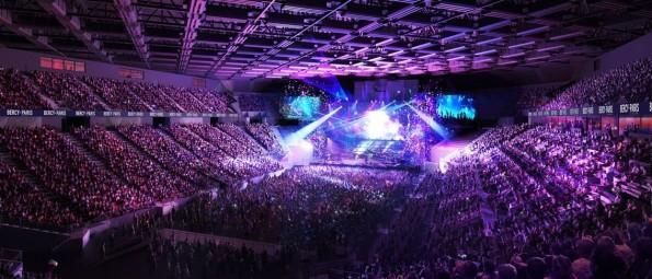 Concert à Bercy