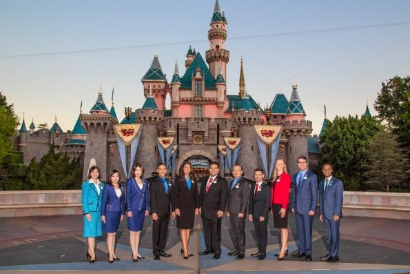 Les ambassadeurs des resorts, réunis le temps d'une photo.