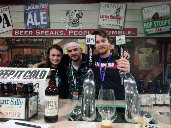 Bryan Joly, brand ambassador de Lagunitas - Planète Bière 2018