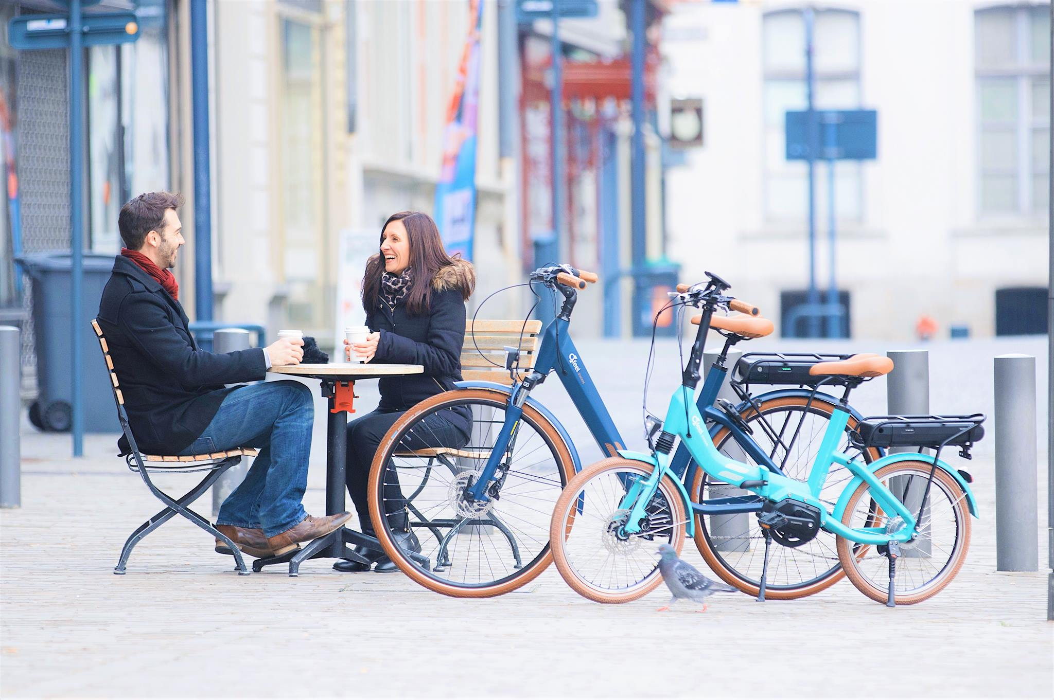 Vélos O2Feel à assistance électrique