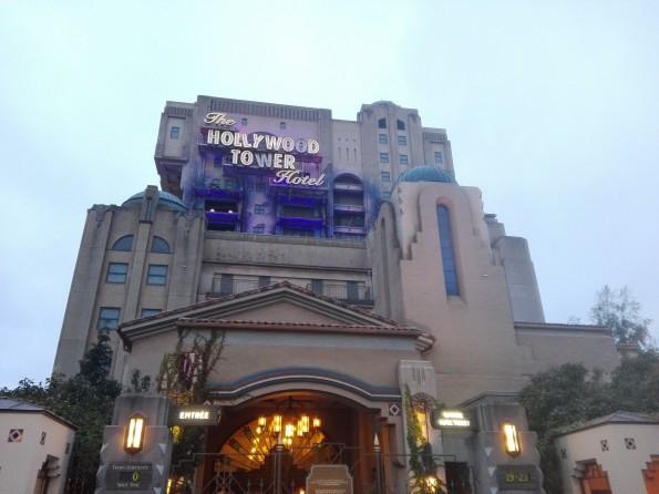 Tour de la Terreur - Hollywood Tower Hotel - Disneyland Paris