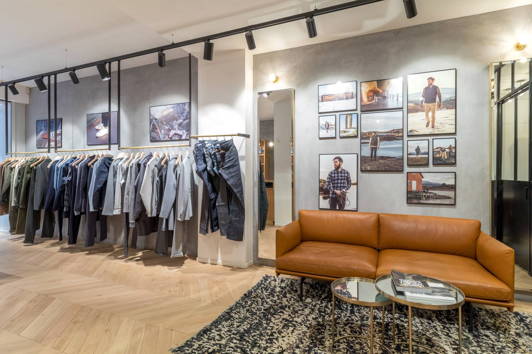 Concept de magasin Label Experience