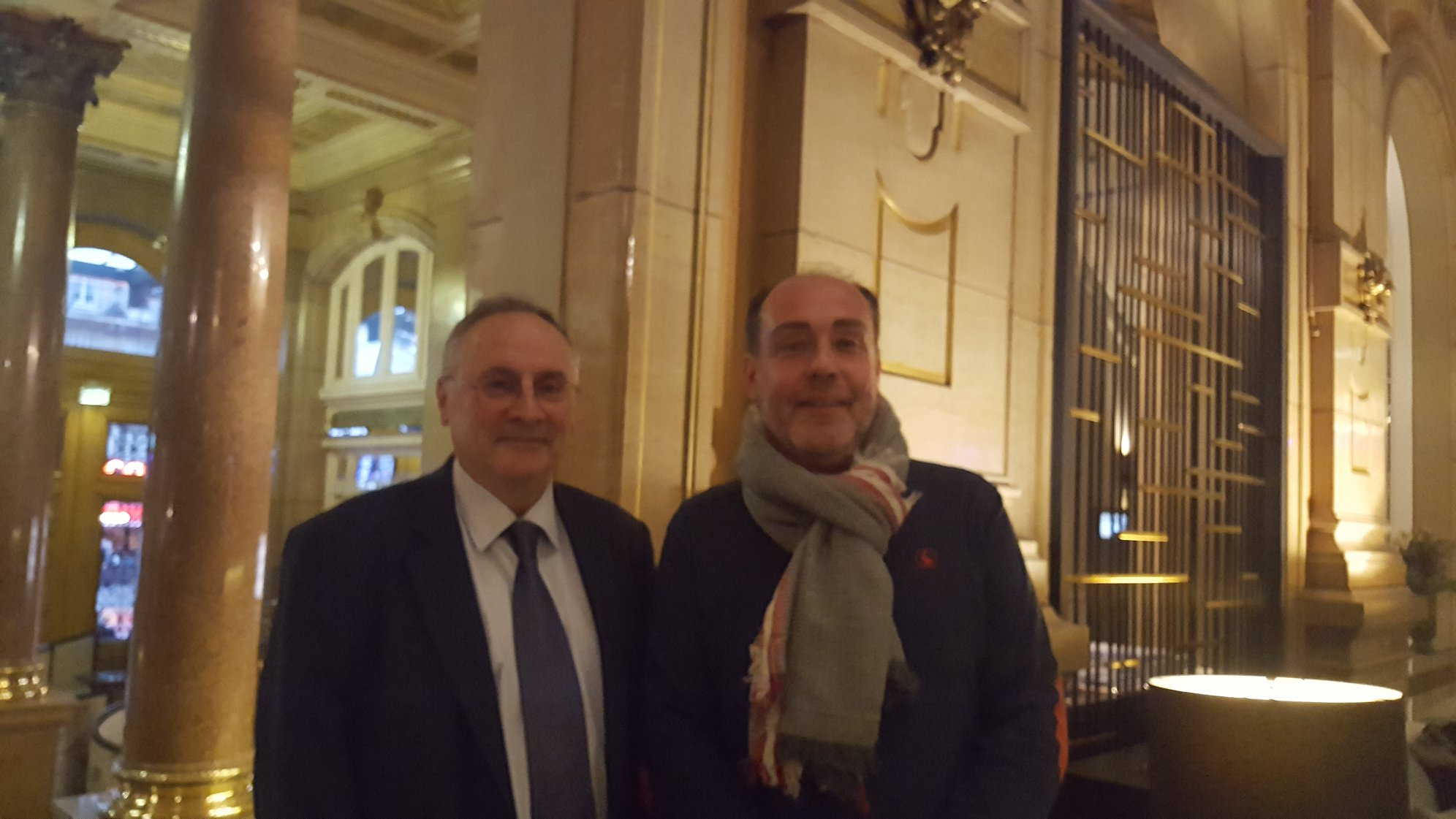 Jean-Claude Allanic et Christophe Paymal