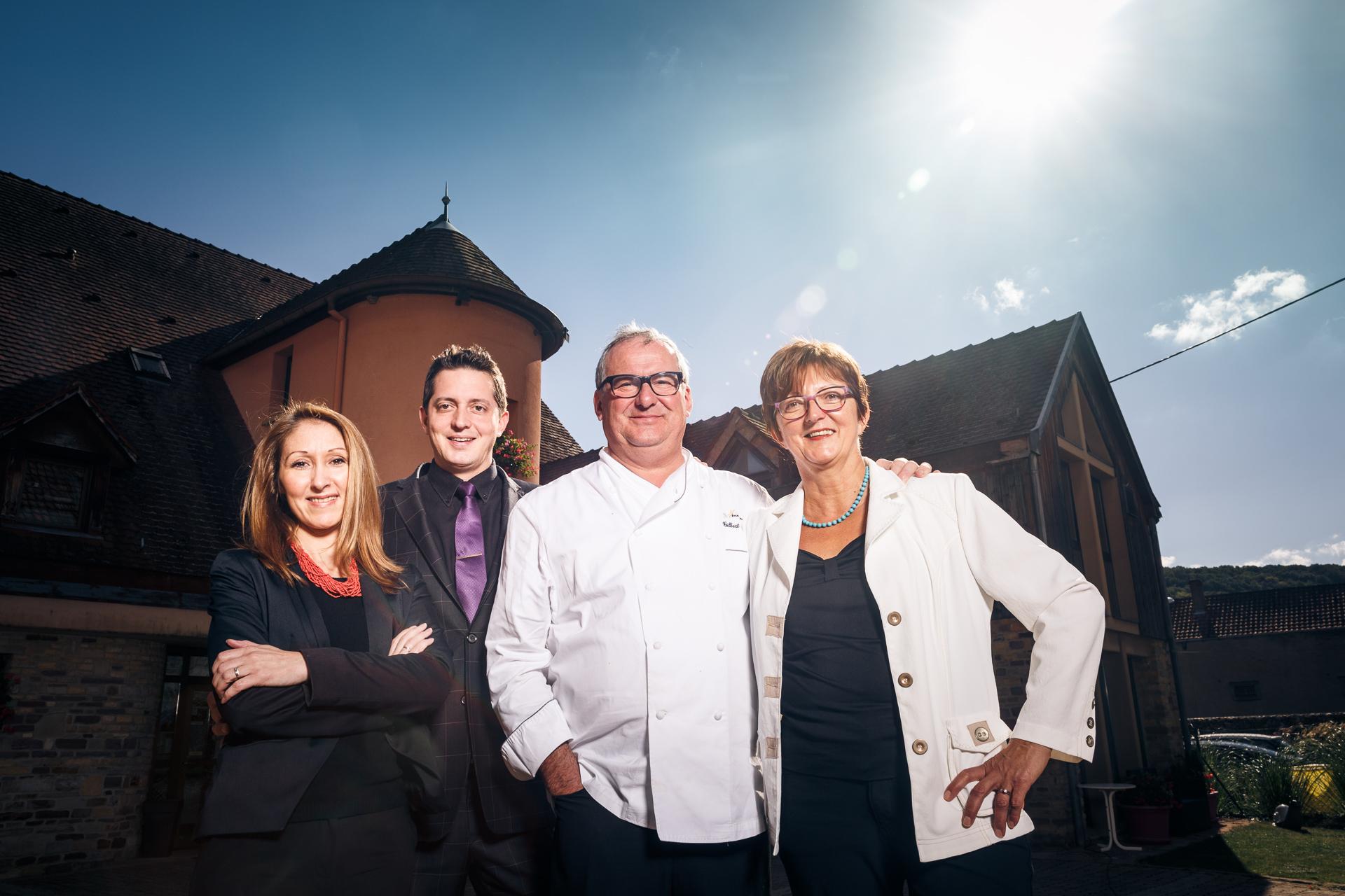 Famille Koehler - Auberge du Cheval Blanc, Westhalten