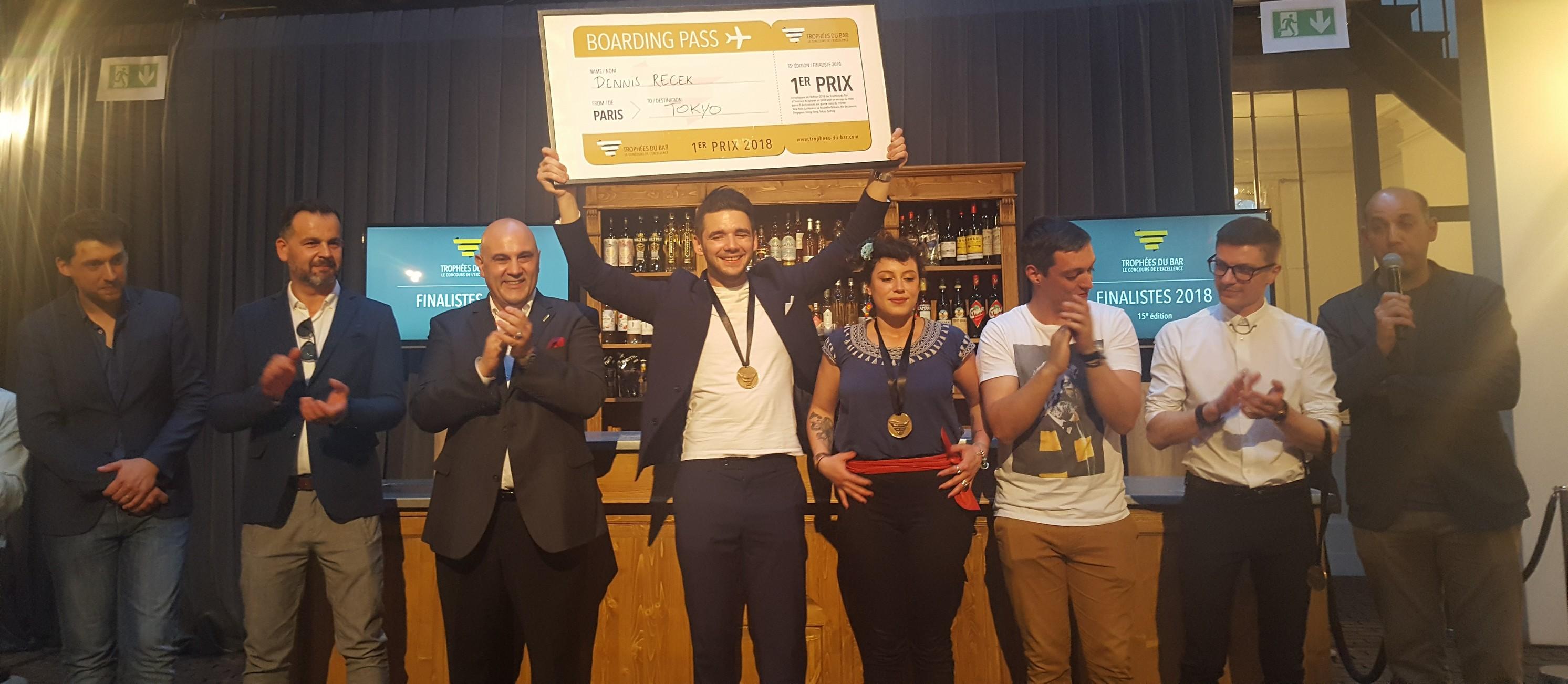 Trophées du bar - Finalistes 2018 - 7 mai 2018 - Paris