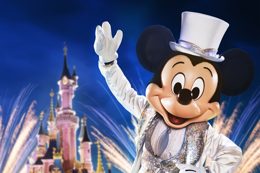 Mickey - 90 ans - Disneyland Paris