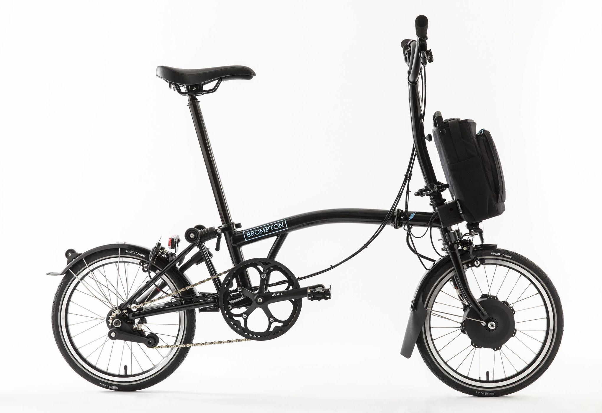 Vélos pliants électriques Brompton