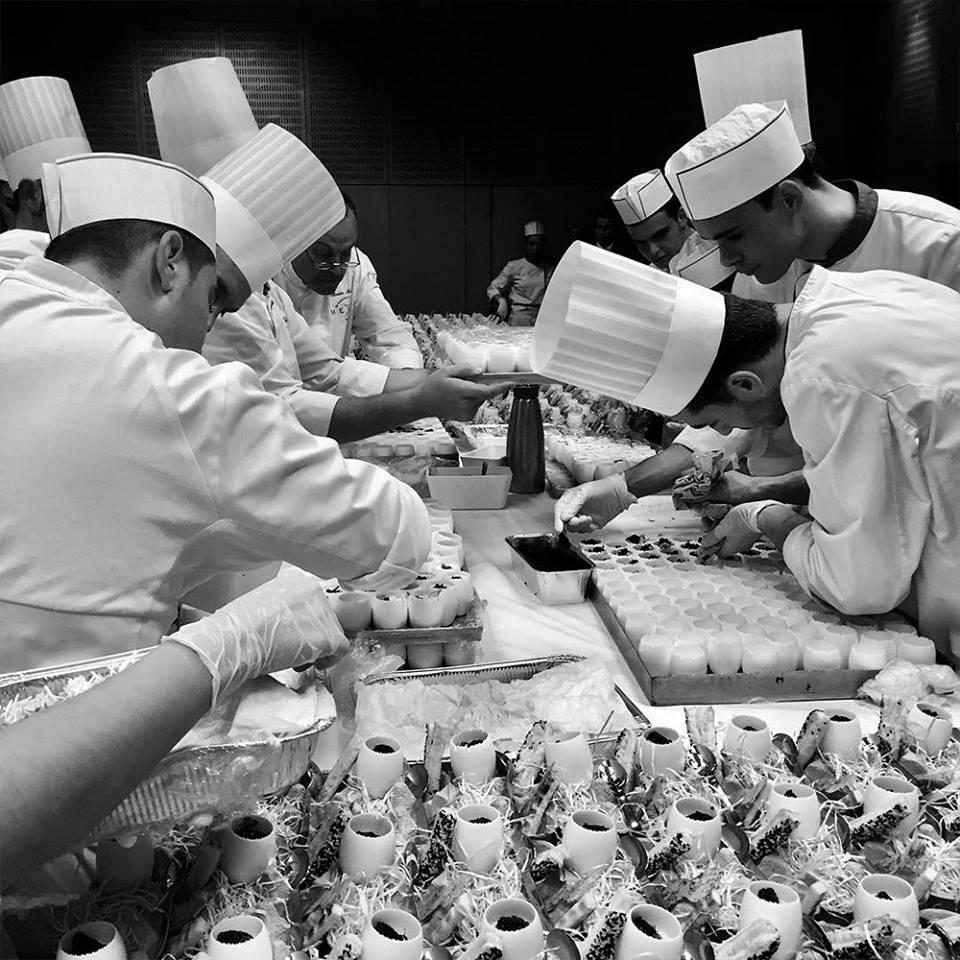 Chefs cuisiniers Traiteurs organisateurs de réception