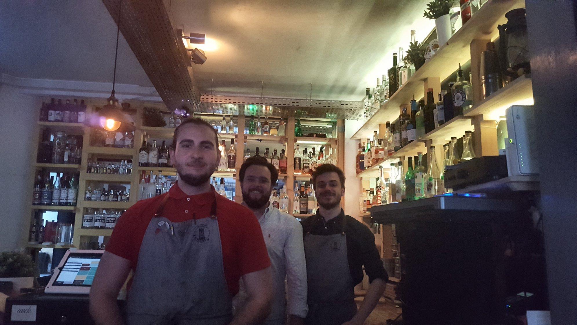 Mathieu, François-Xavier et Alexandre, Avek, Paris