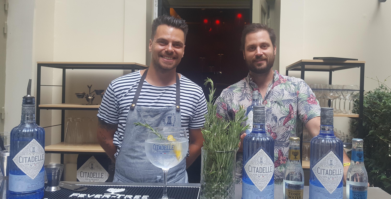 Gin tonic - Citadelle et Bootleggers - Buddha Bar Hotel Paris