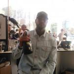 Booba continue de soutenir son whisky auprès des professionnels