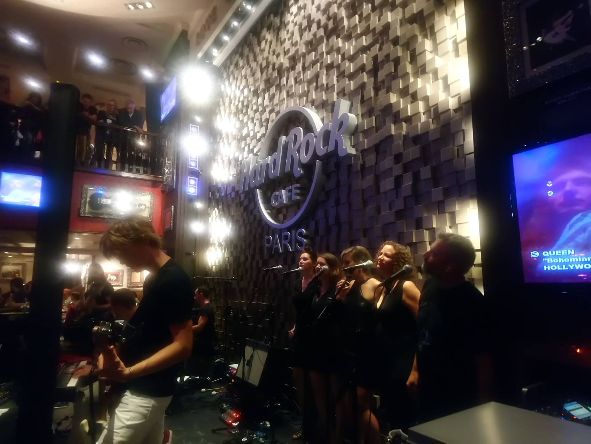 Freddie for a day - Hard Rock Cafe Paris - Septembre 2018