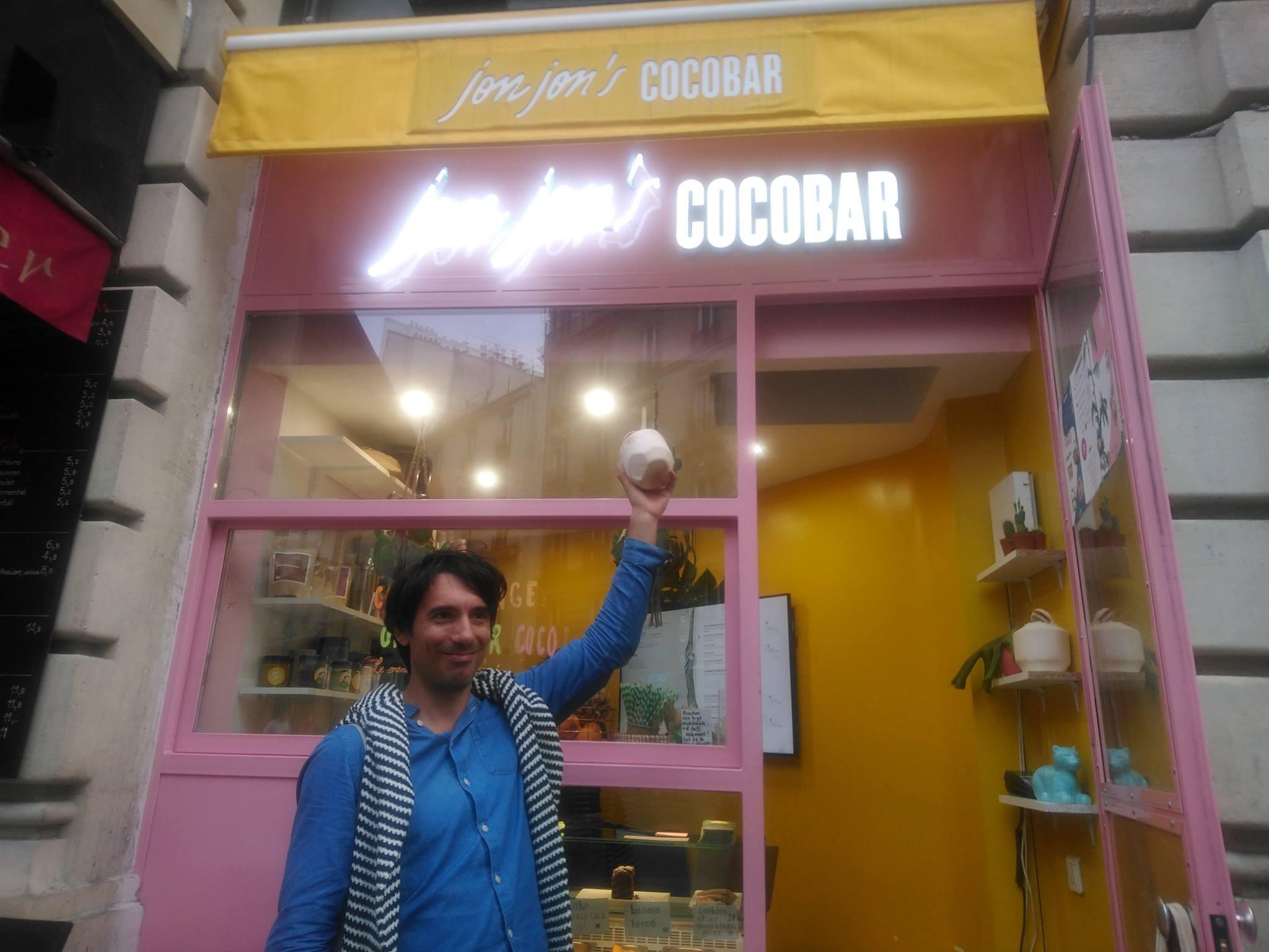 Jonjon's coconuts- Jonathan Vigreux