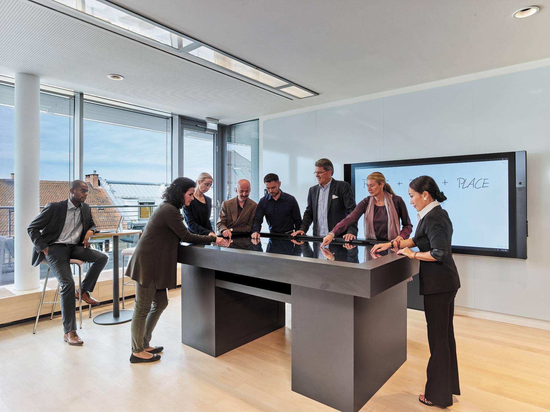 LINK Steelcase - Bureaux de Munich